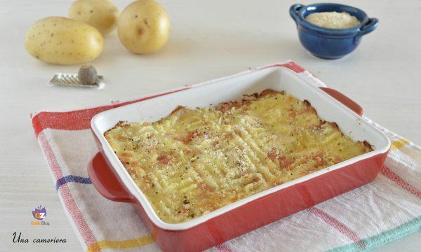 Sformato light di patate e prosciutto cotto