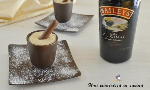Crema al mascarpone con Baileys