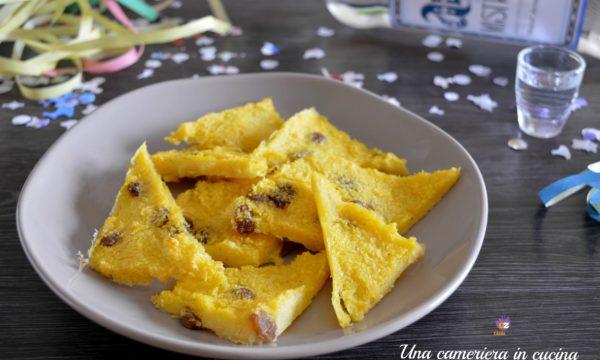 Pinzi di polenta di Carnevale