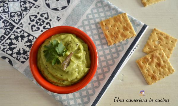 Salsa verde all'avocado – velocissima