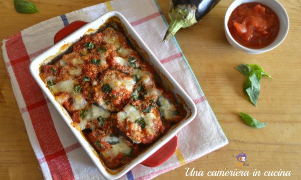 Parmigiana di melanzane – ricetta light