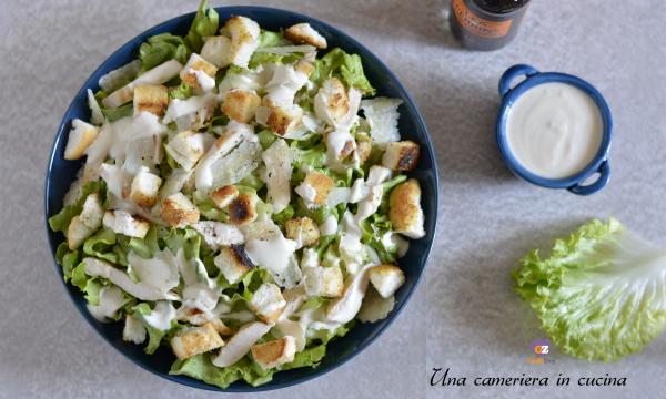 Caesar salad con pollo – versione light