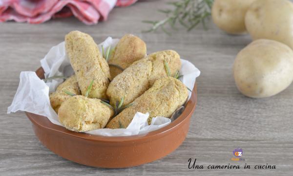 Crocchette di patate light – con friggitrice ad aria