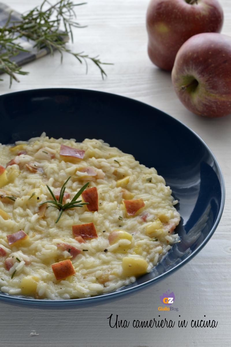 risotto-mele-pancetta-rosmarino