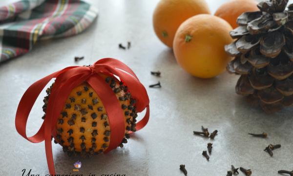 Una decorazione naturale: il pomander