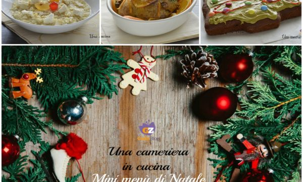 Mini menù di Natale 2020