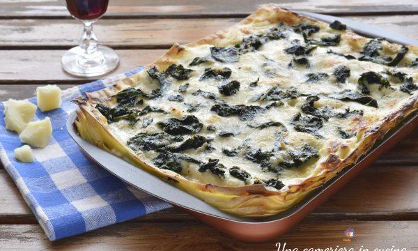 Lasagne con cavolo nero e gorgonzola