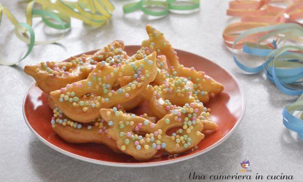 Mascherine di Carnevale fritte