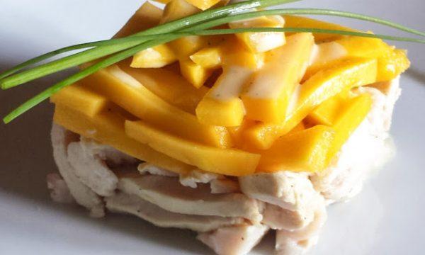 Pollo al mango