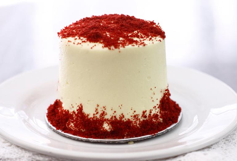 mini red velvet cake ricetta