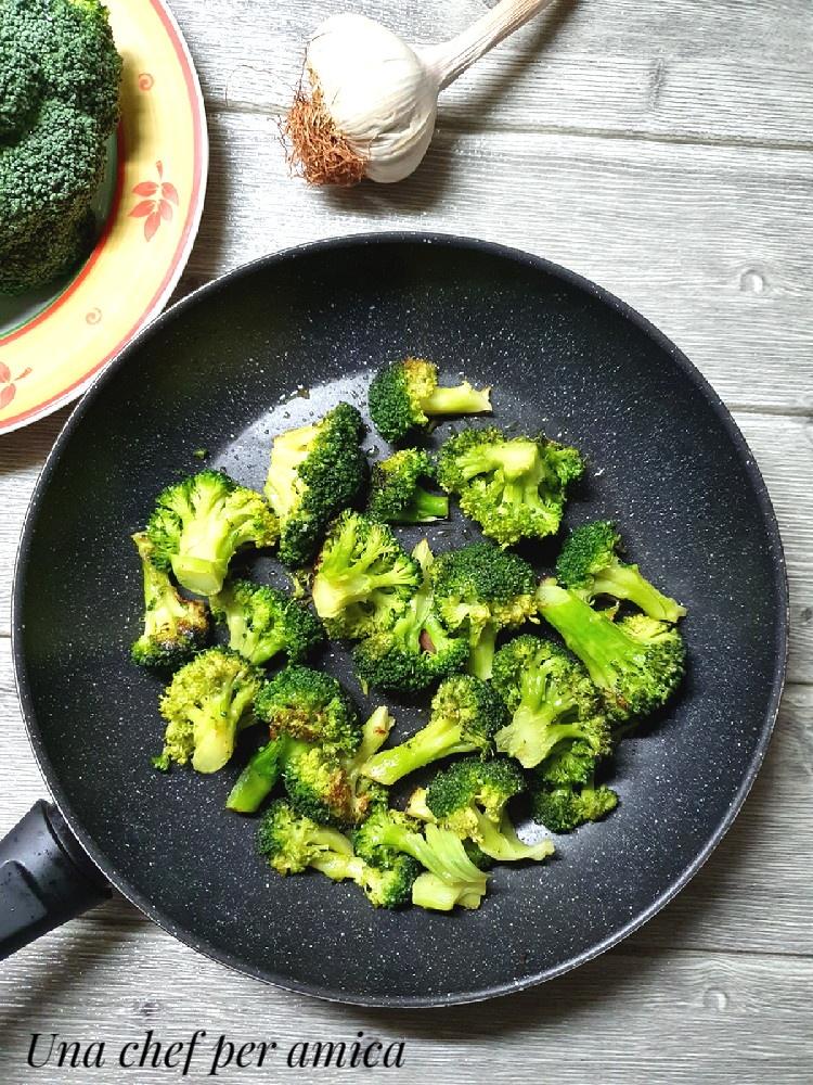Broccoli in padella 1