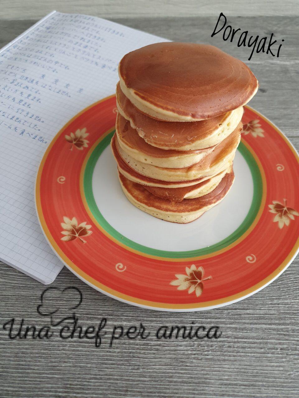Dorayaki pancake giapponesi