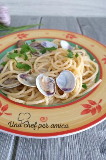Spaghetti alle vongole 1