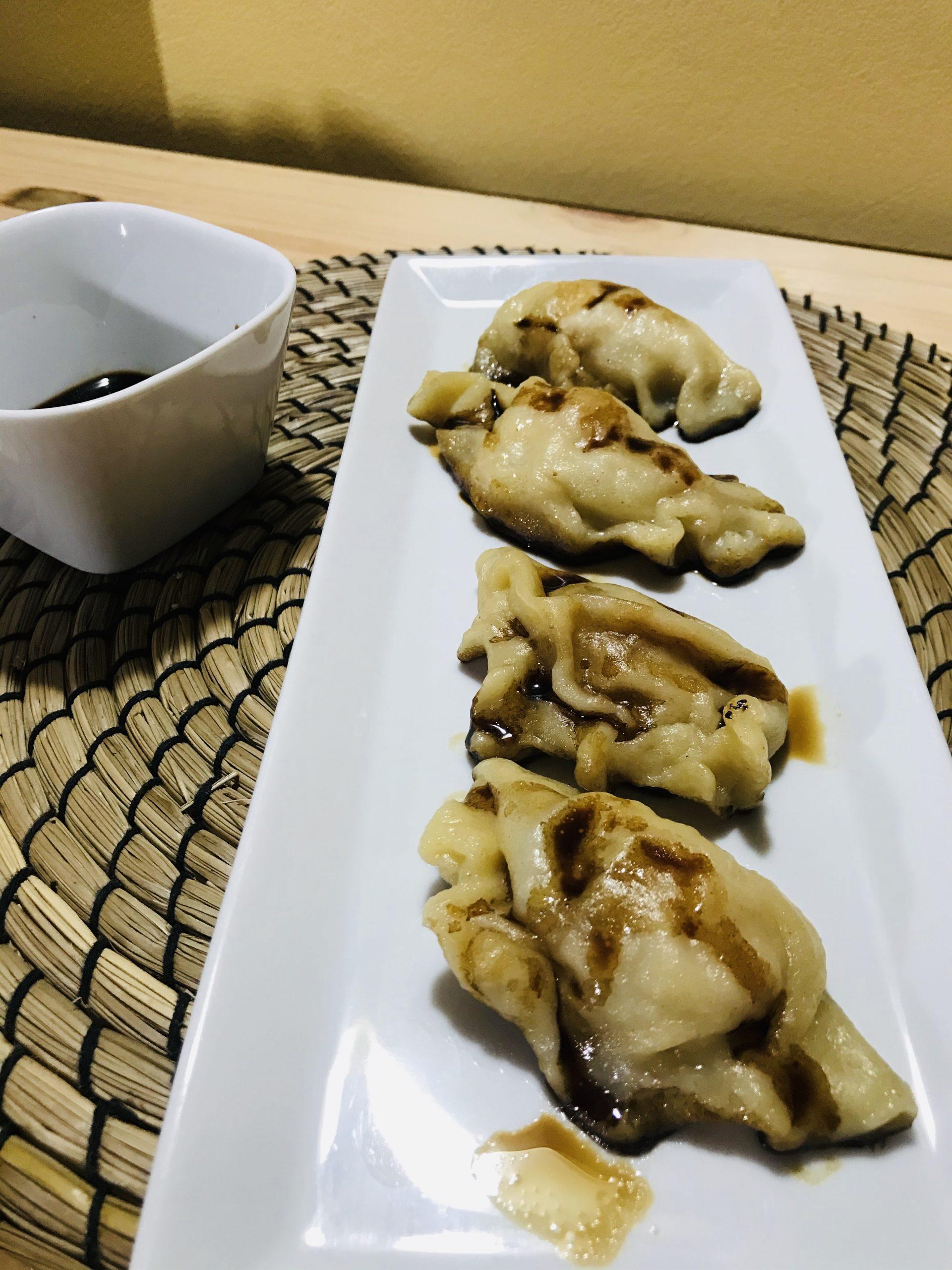 Ricetta Gyoza Ai Gamberi.Gyoza Di Gamberi Una Chicca In Cucina