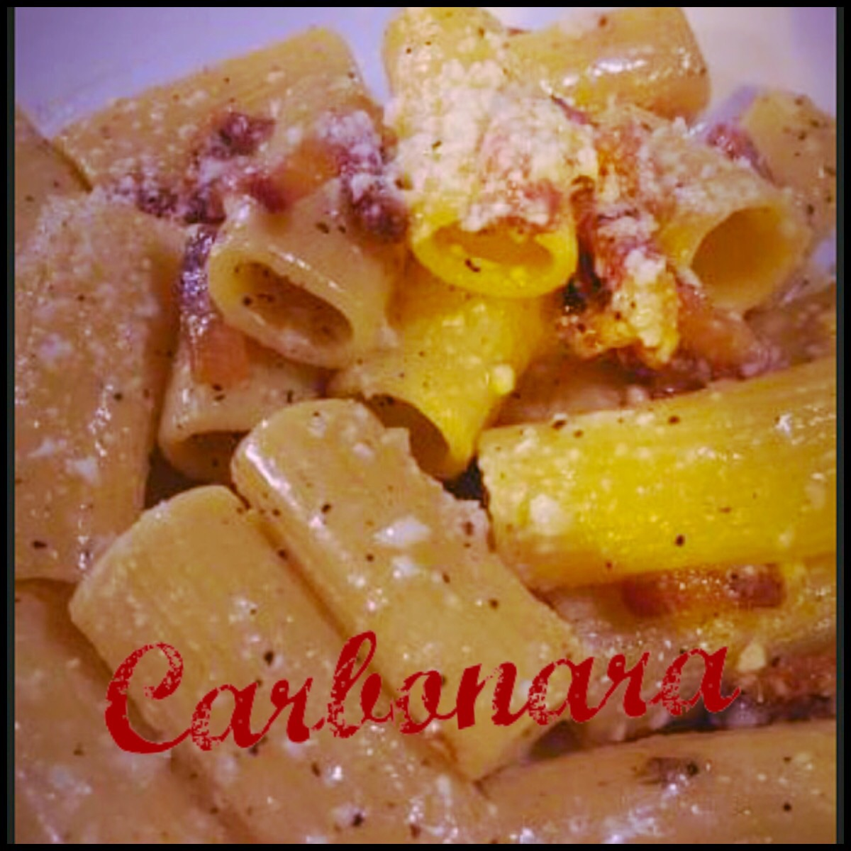 Carbonara ricetta ed ingredienti dei foodblogger italiani for Piatto tipico romano