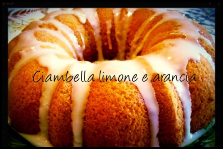 Ciambella limone e arancia