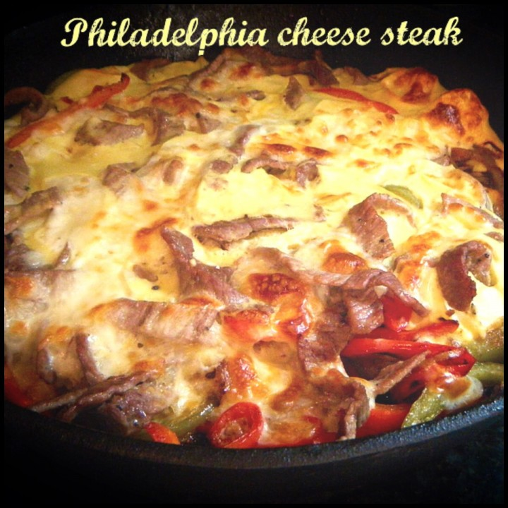 Philadelphia cheese steak