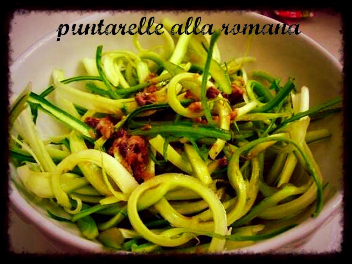 Puntarelle alla romana | Una cucina da single
