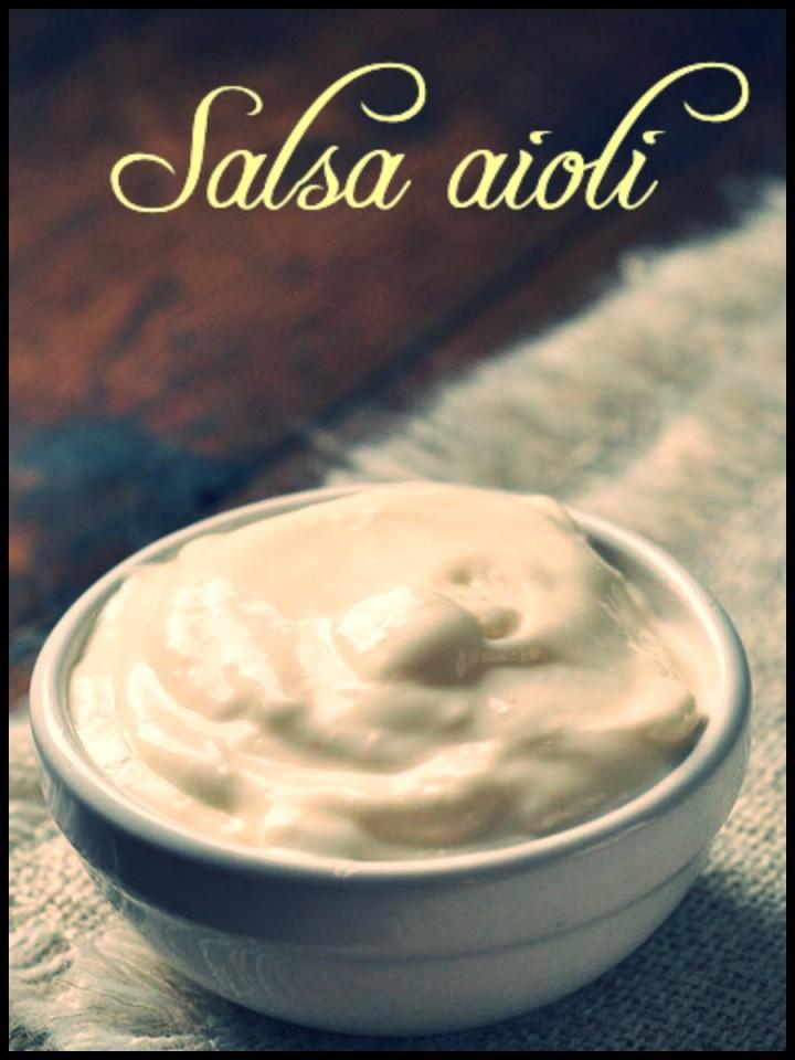 Salsa aioli... La salsa dei single