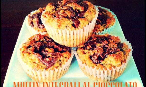 Muffin integrali al cioccolato