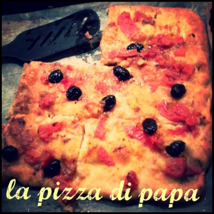 La pizza di papà