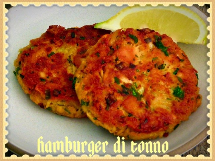 Hamburger di tonno