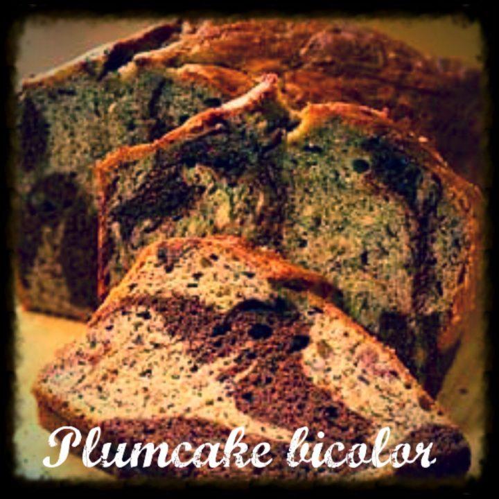 Plumcake bicolor