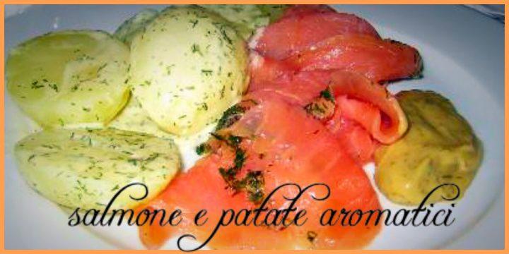 Salmone e patate aromatici