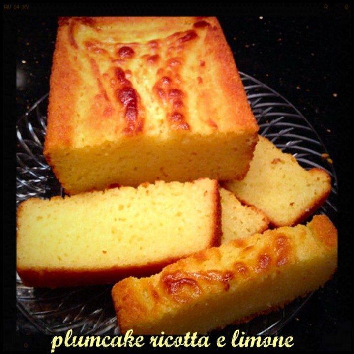 plumcake ricotta e limone