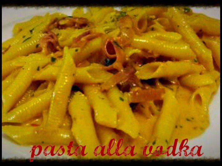 Pasta alla vodka