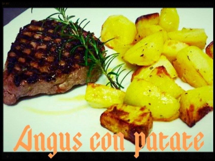 Angus con patate