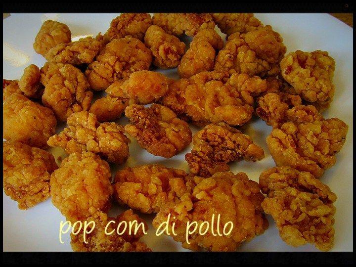 Pop corn di pollo