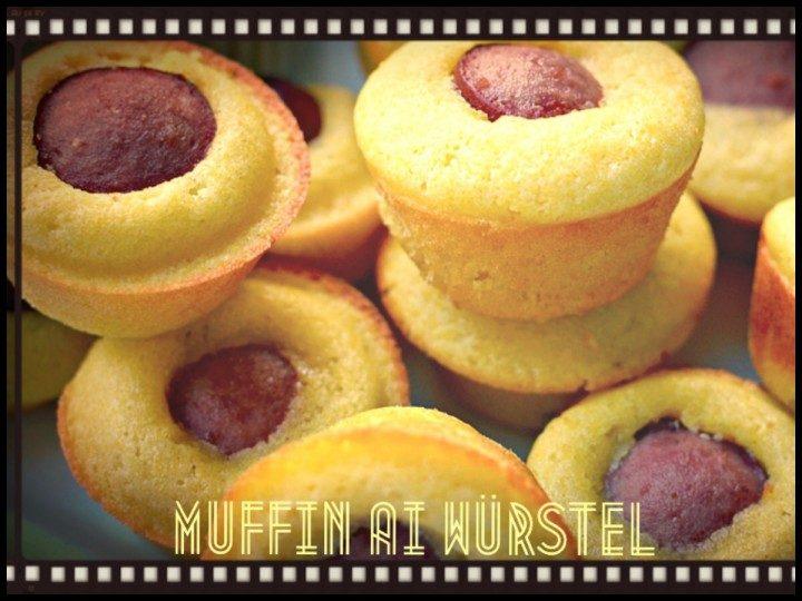 Muffin ai wurstel