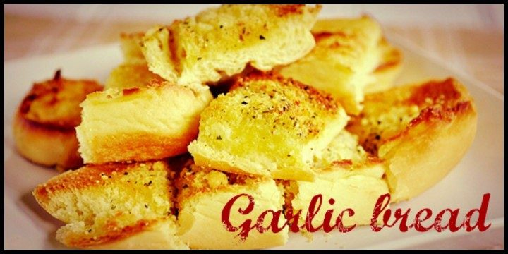 Garlic bread - Bruschette all'aglio