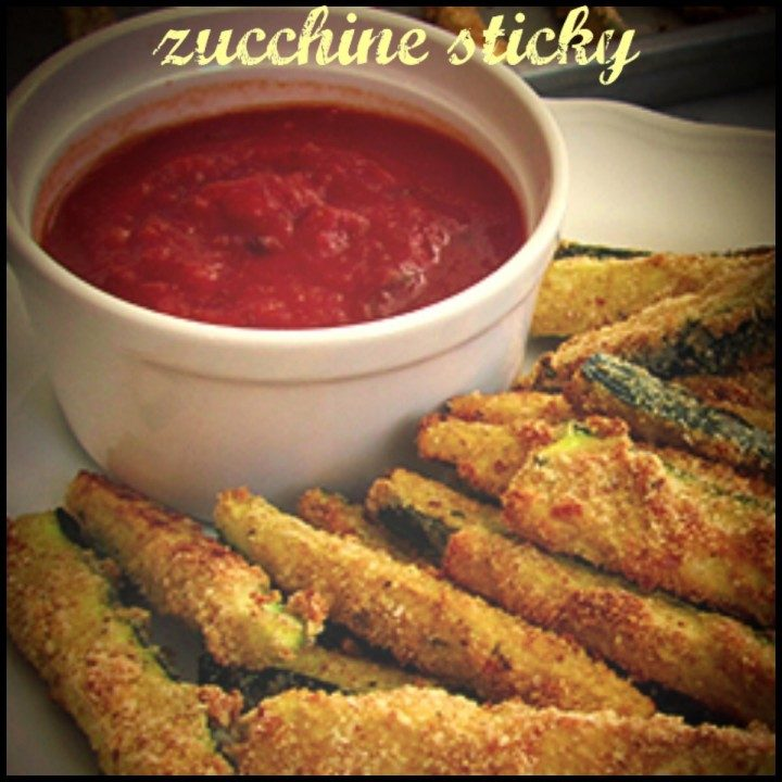 Zucchine sticky