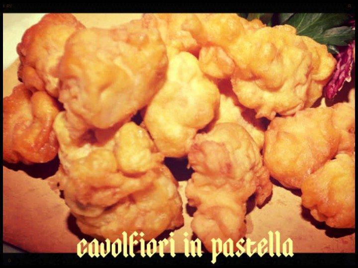 Cavolfiori in pastella