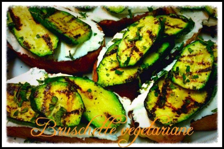 Bruschette vegetariane