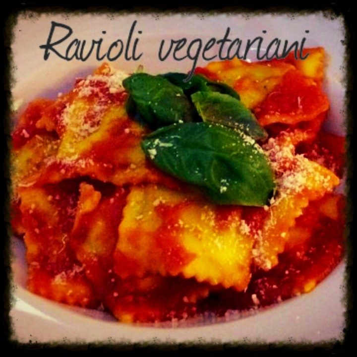 Ravioli vegetariani