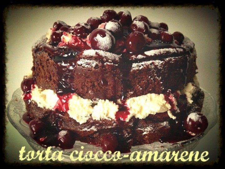 Torta ciocco-amarene
