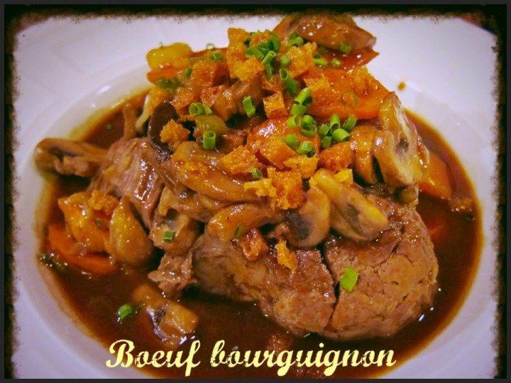 Boeuf bourguignon
