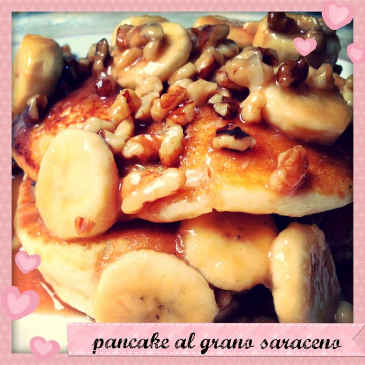 Pancake al grano saraceno