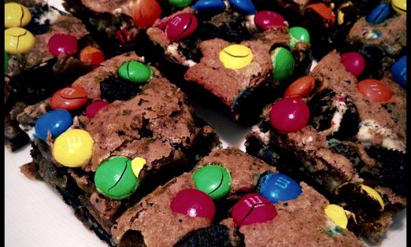 Brownies alle M&Ms