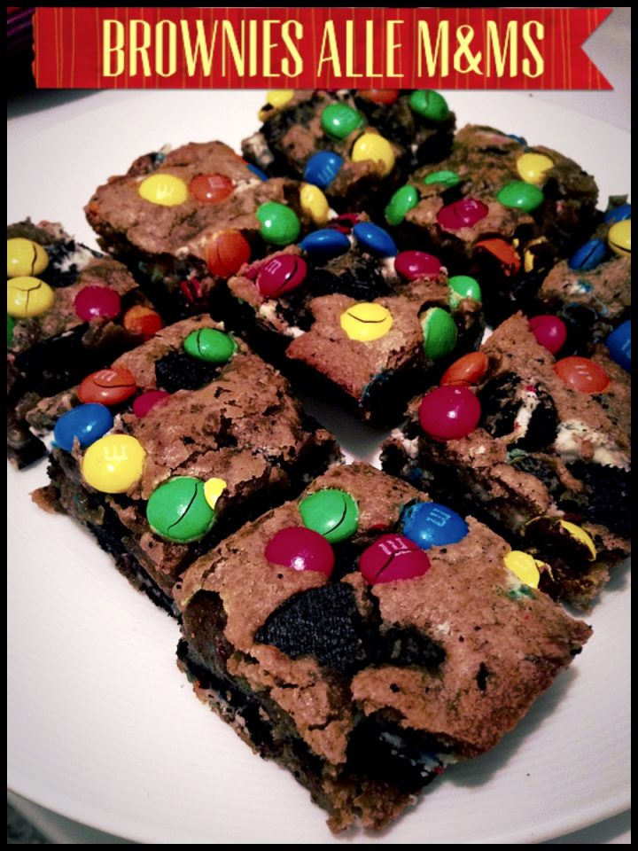Brownies alle M&Ms