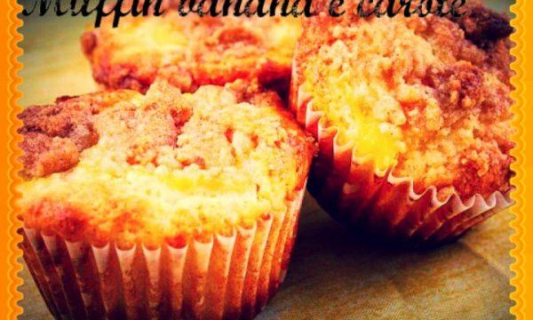 Muffin banana e carote