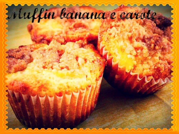 Muffin banane e carote