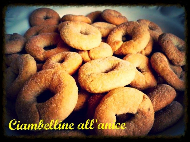 Ciambelline all'anice