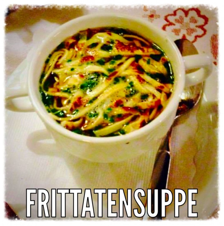 frittatensuppe una cucina da single
