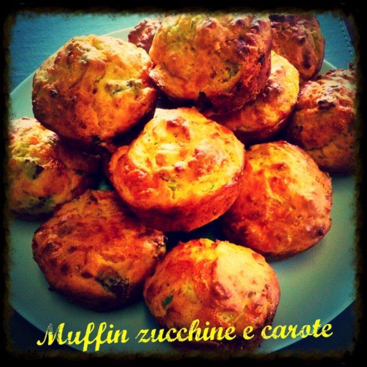 Muffin zucchine e carote