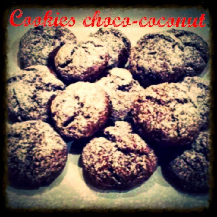 Cookies choco coconut