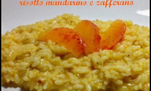 Risotto al mandarino e zafferano